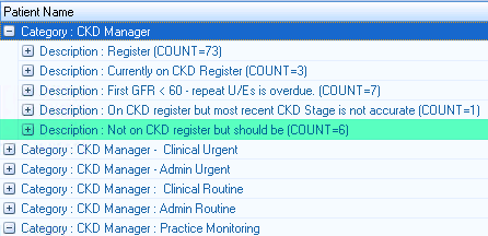 Identify patients with undiagnosed CKD