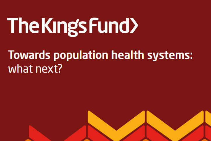 Vision and The King's Fund Population Health Event