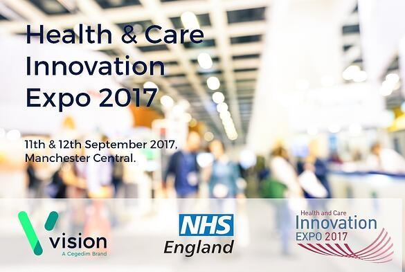 Join us at the Health & Care Innovation Expo.